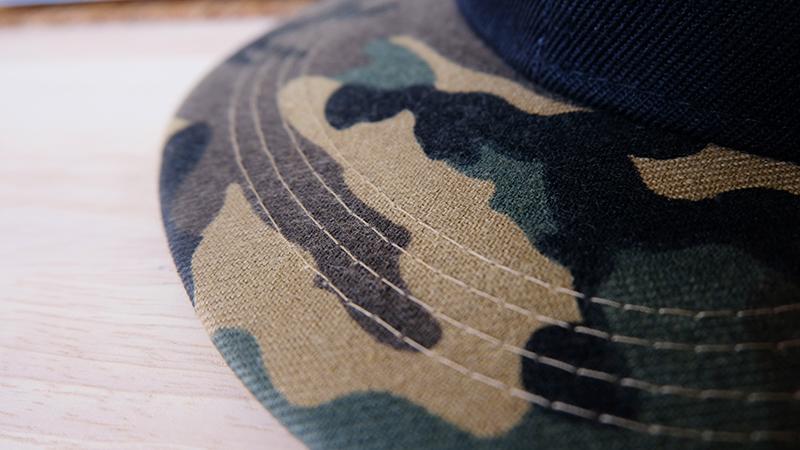 ปีกหมวก หมวกฮิปฮอป ลายทหาร ลายพลาง