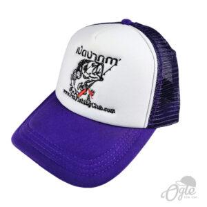 ปักหมวกพรีเมี่ยม หมวกแก๊ปผ้าพีช โลโก้ Penfishingclub