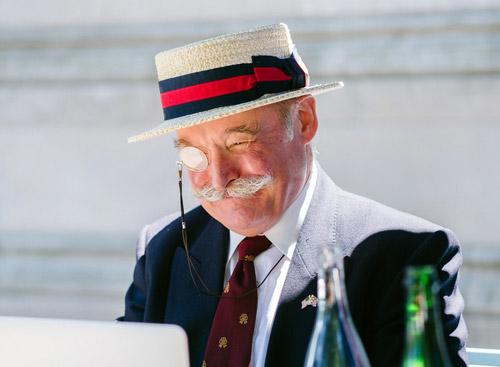 Boater หมวก โบเทอะ ภาษาอังกฤษ