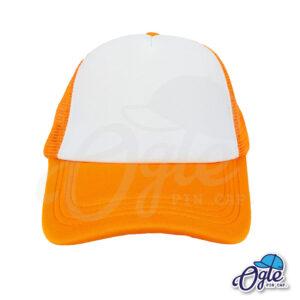 หมวกตาข่าย-สีส้ม