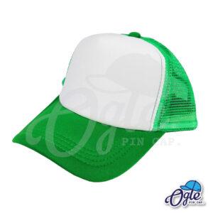 หมวกตาข่าย-สีเขียว