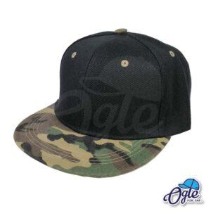 หมวกฮิปฮอป-ลายทหาร-ด้านข้าง