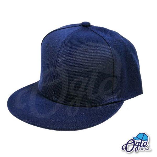 หมวกฮิปฮอป-สีกรมท่า-ด้านข้าง