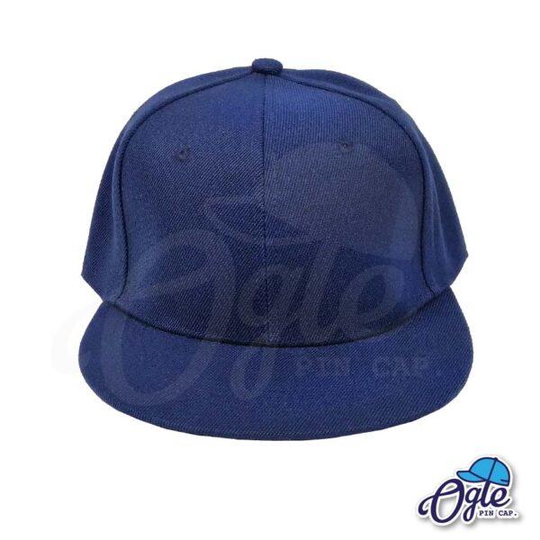 หมวกฮิปฮอป-สีกรมท่า-ด้านหน้า