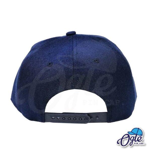 หมวกฮิปฮอป-สีกรมท่า-ด้านหลัง