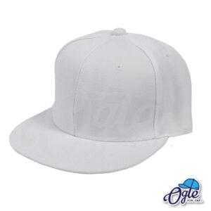 หมวกฮิปฮอป-สีขาว-ด้านข้าง