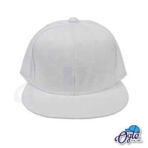 หมวกฮิปฮอป-สีขาว-ด้านหน้า