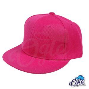 หมวกฮิปฮอป-สีชมพู-ด้านข้าง