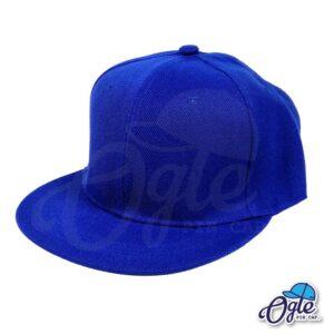 หมวกฮิปฮอป-สีน้ำเงิน-ด้านข้าง