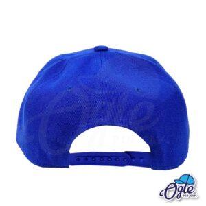หมวกฮิปฮอป-สีน้ำเงิน-ด้ายหลัง