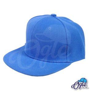 หมวกฮิปฮอป-สีฟ้าอ่อน-ด้านข้าง