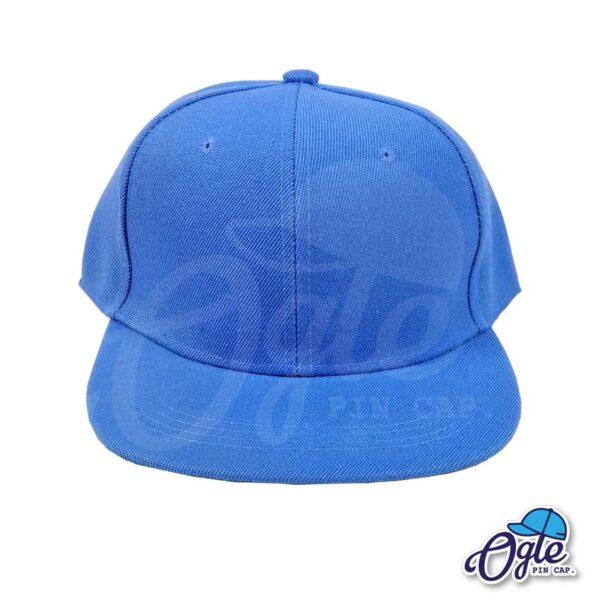 หมวกฮิปฮอป-สีฟ้าอ่อน-ด้านหน้า