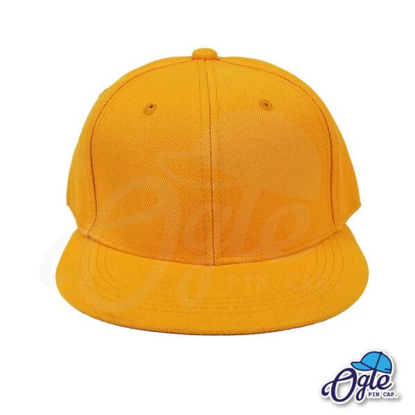 หมวกฮิปฮอป-สีส้มอ่อน-ด้านหน้า