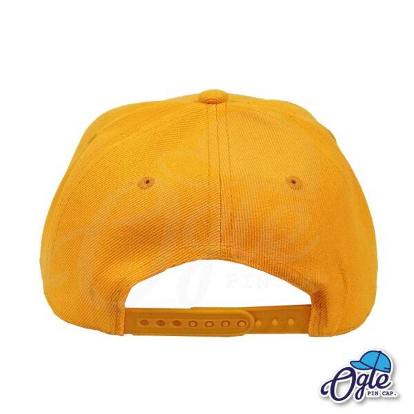 หมวกฮิปฮอป-สีส้มอ่อน-ด้านหลัง