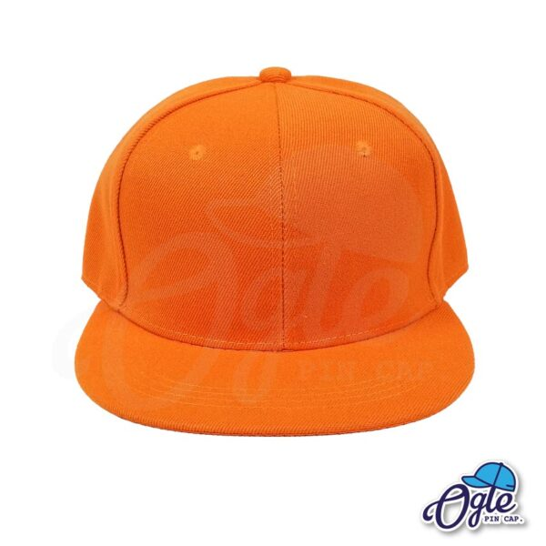 หมวกฮิปฮอป-สีส้ม-ด้านหน้า