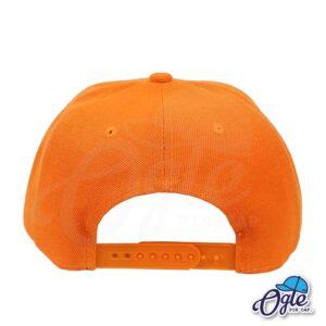 หมวกฮิปฮอป-สีส้ม-ด้านหลัง