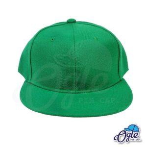หมวกฮิปฮอป-สีเขียว-ด้านหน้า