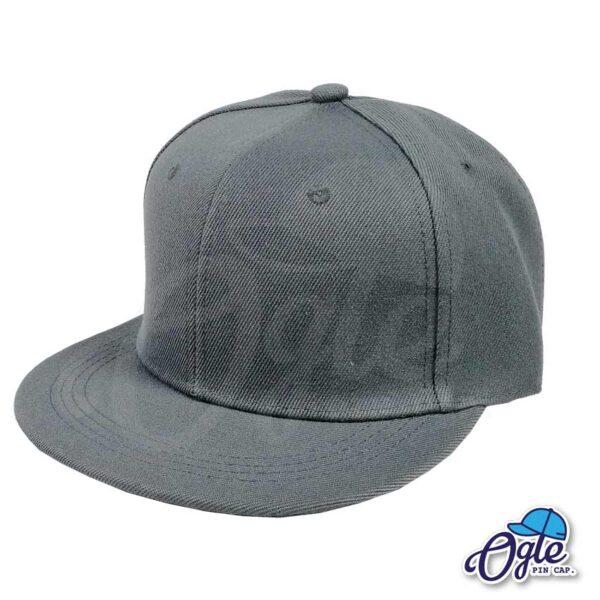 หมวกฮิปฮอป-สีเทา-ด้านข้าง