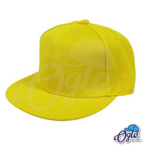 หมวกฮิปฮอป-สีเหลือง-ด้านข้าง