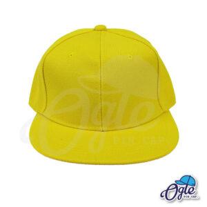 หมวกฮิปฮอป-สีเหลือง-ด้านหน้า