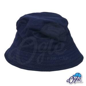 หมวกบักเก็ต สีกรมท่า สีพื้น หมวกเปล่า ราคาส่ง
