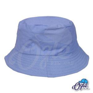 หมวกบักเก็ต สีฟ้าพาสเทล หมวกเปล่า สีพื้น ราคาส่ง