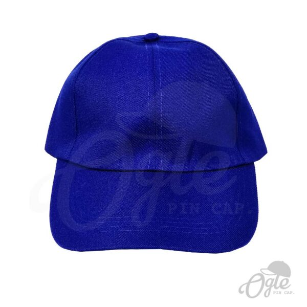 หมวกแก๊ป-ผ้าดีวาย-สีน้ำเงิน-ด้านหน้า