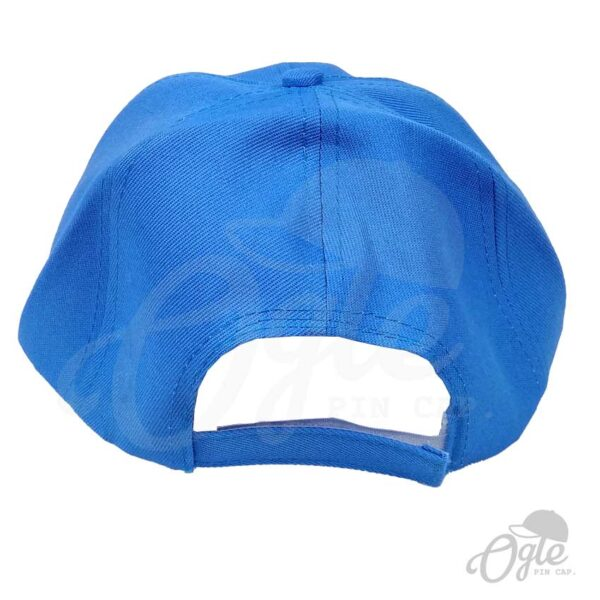 หมวกแก๊ป-ผ้าดีวาย-สีฟ้า-ด้านหลัง