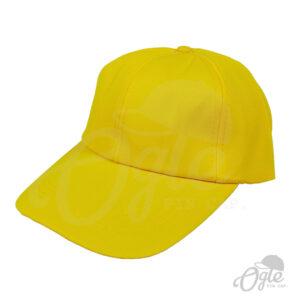 หมวกแก๊ป-ผ้าดีวาย-เหลือง-ด้านข้าง