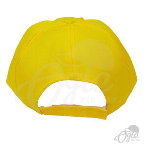 หมวกแก๊ป-ผ้าดีวาย-เหลือง-ด้านหลัง