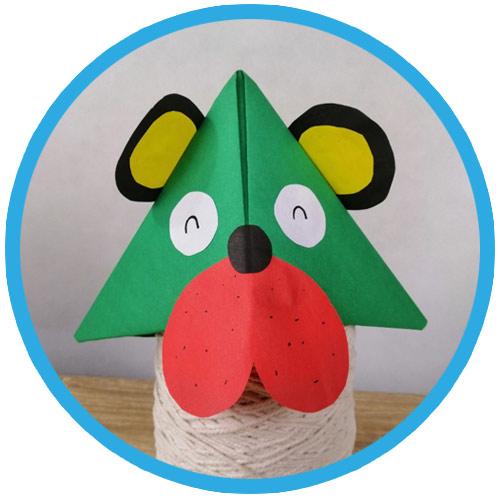 วิธีทำหมวกกระดาษ diy ปีใหม่ 01
