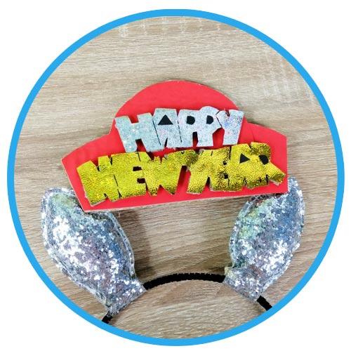 วิธีทำหมวกกระดาษ diy ปีใหม่ 03