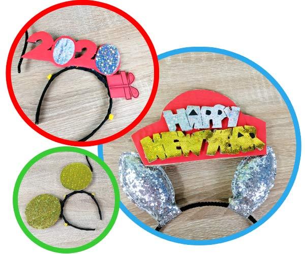 วิธีหมวกกระดาษ-HAIR-BAND-FANCY