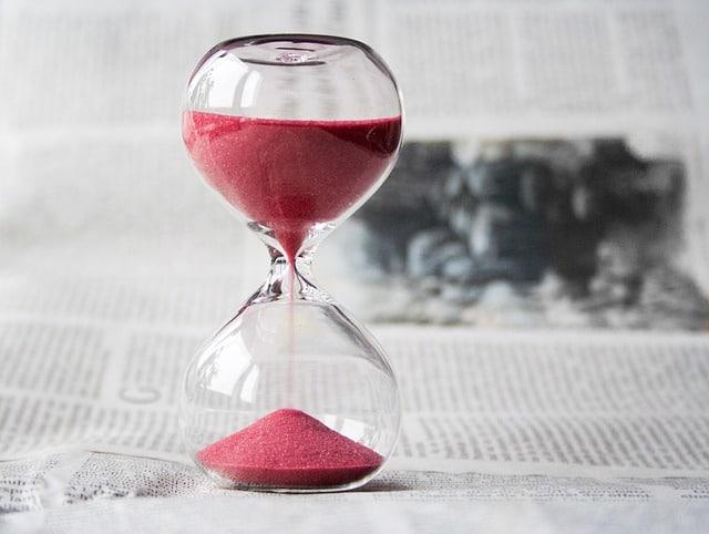 นาฬิกาทราย-ระยะเวลา