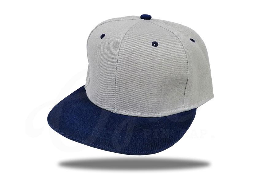 ประเภทของหมวก-หมวกฮิปฮอป-หมวกสีเทา-ปีกหมวกสีกรม