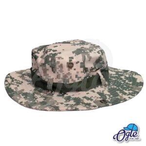 หมวกเดินป่า-หมวกลายพราง-ดิจิตอล-หมวกปีกทหาร-หมวกปีก กว้าง-หมวกปีกรอบ-สีครีม