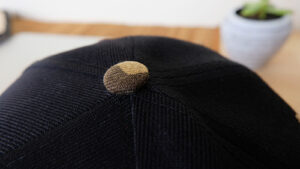กระดุมหมวก-หมวกฮิปฮอป-สีดำ