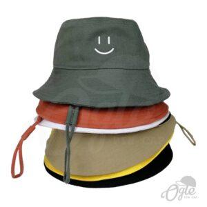 หมวกบักเก็ต-มีเชือก-หลายสี
