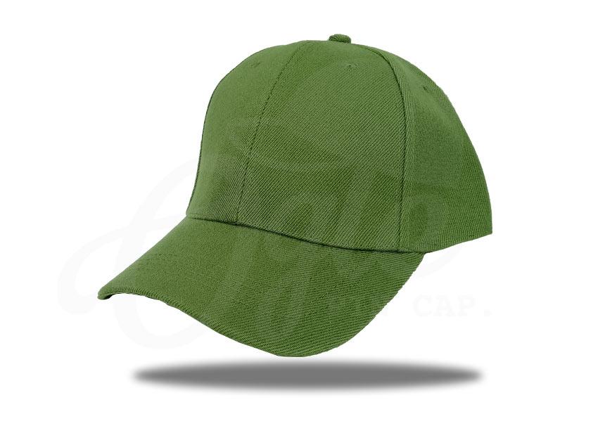 ประเภทของหมวก-หมวกแก๊ป-ผ้าดีวาย-สีน้ำตาลอ่อน
