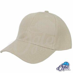 หมวกแก๊ป-สีน้ำตาล-ผ้าชาลี-เอียงข้าง